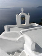 santorini bells greece