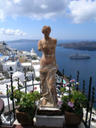thira santorini greece